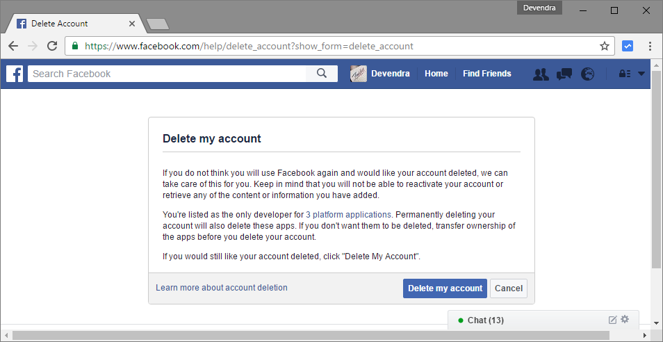 How To Delete Facebook Account - 43.0KB