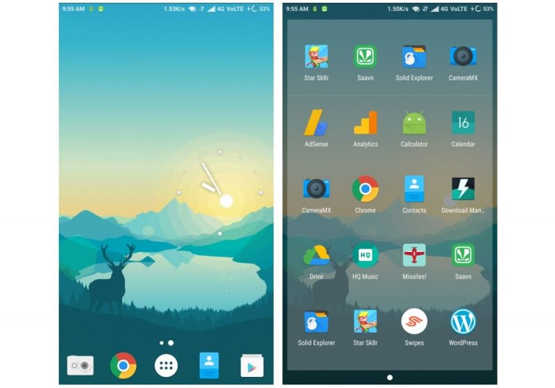 nova launcher themes, android