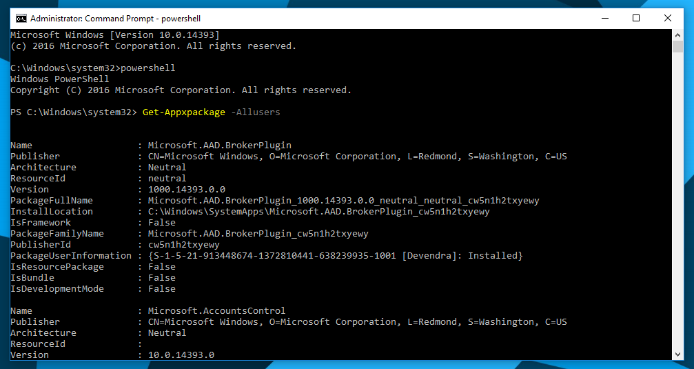 open powershell, windows 10, as admin, ways
