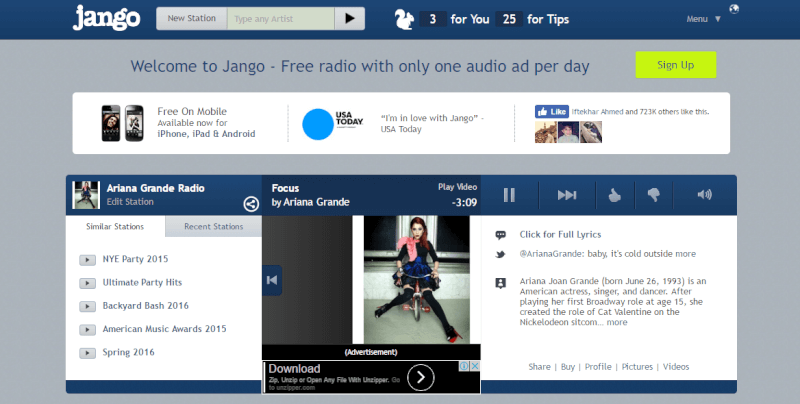 music streaming sites, best, free, good