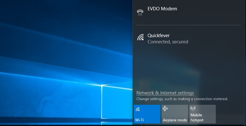 How to Create Wi-Fi Hotspot on Windows 7/8/10