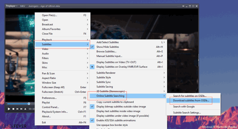 auto subtitle downloader
