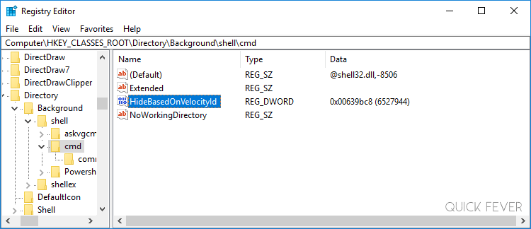 windows 10 shift right click not working