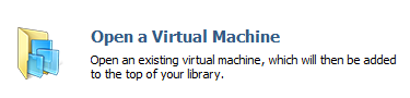 Open VirtualMachine