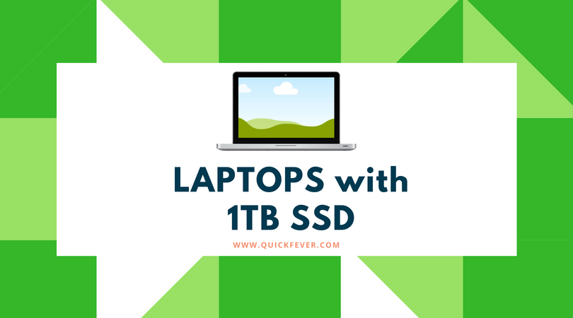 Laptops with 1tb SSD