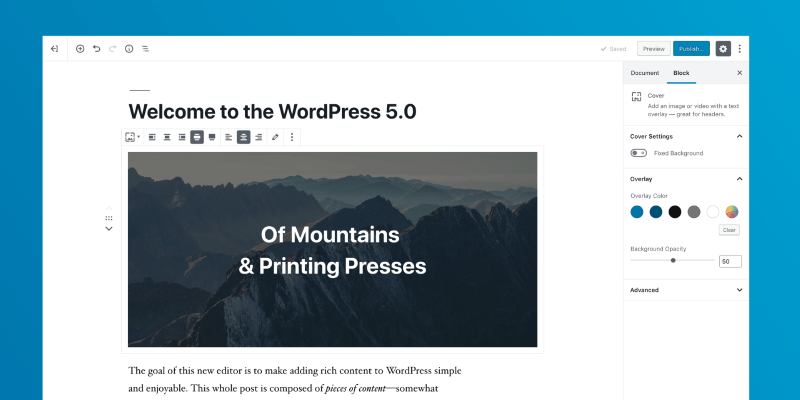 Download WordPress 5.0