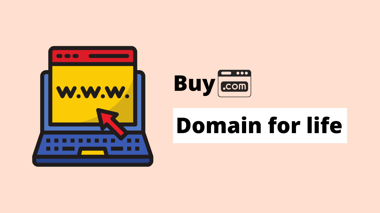 buy domain for life